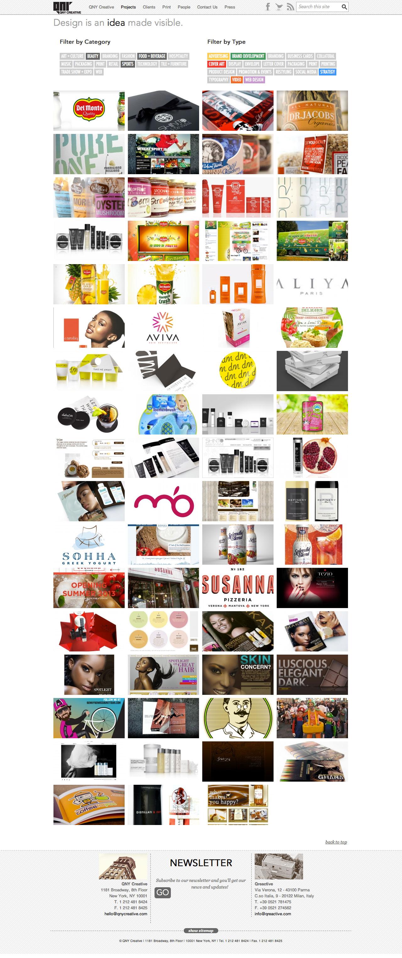 QNY Creative portfolio