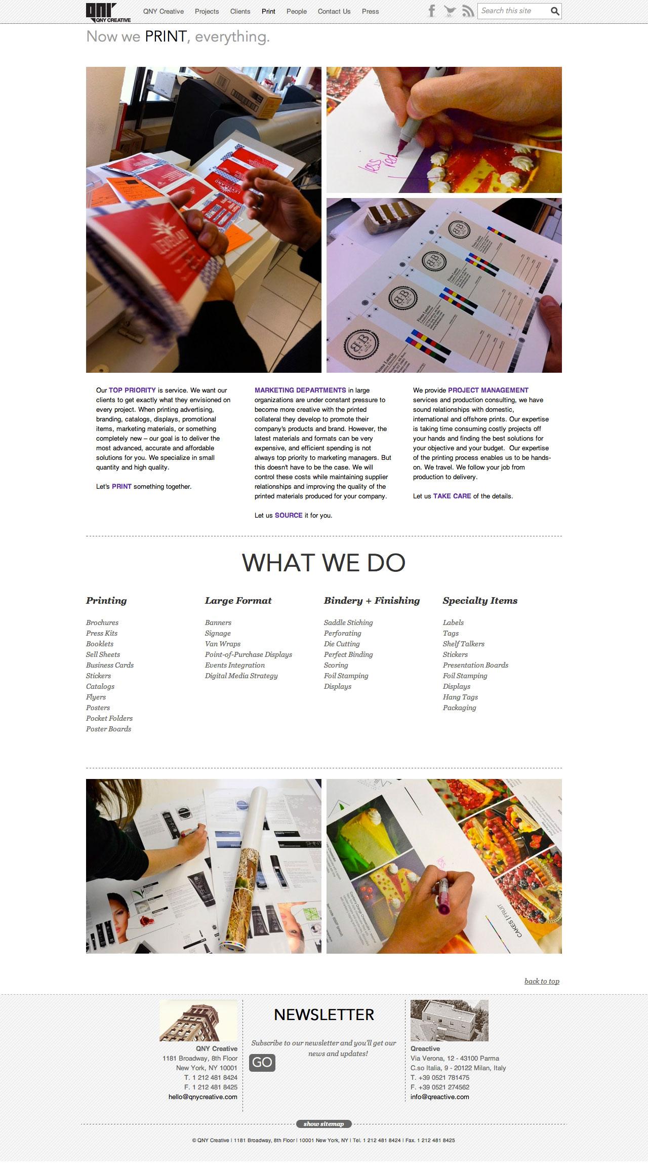 QNY Creative Print
